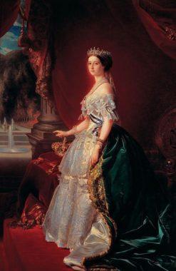 The Empress Eugenie   Franz Xavier Winterhalter   Oil Painting