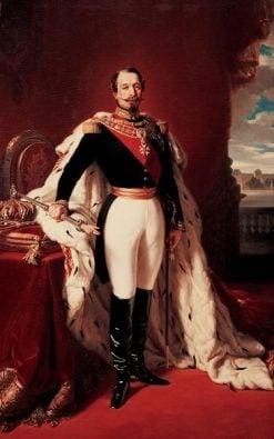 The Emperor Napoleon III   Franz Xavier Winterhalter   Oil Painting