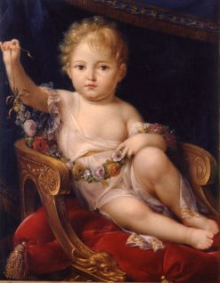 The King of Rome   Pierre Paul Prud'hon   Oil Painting