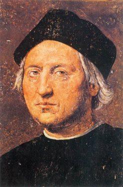 Portrait of Christopher Columbus | Ridolfo Ghirlandaio | Oil Painting