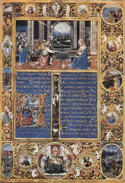 Missal   Gherado di Giovanni del Fora   Oil Painting