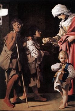 The Charity | Bartolomeo Schedoni | Oil Painting