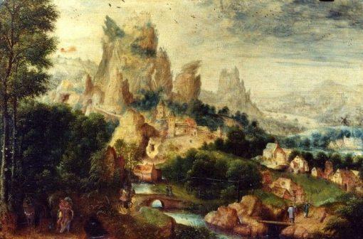 Parable of the Good Samaritan | Herri met de Bles | Oil Painting