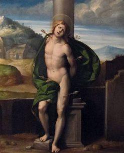 Saint Sebastian | Il Garofalo | Oil Painting