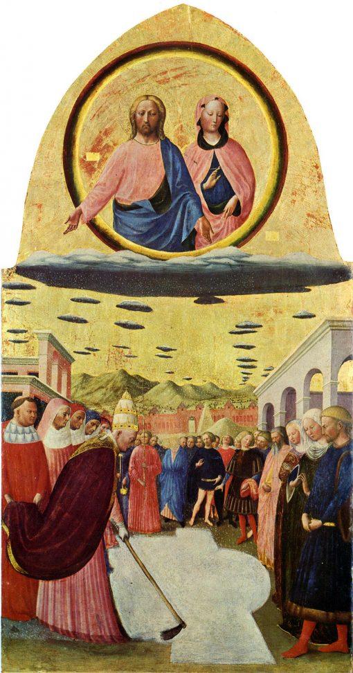 The Founding of Santa Maria Maggiore | Masolino da Panicale | Oil Painting