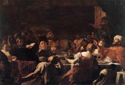 Absalom's Feast | Mattia Preti | Oil Painting