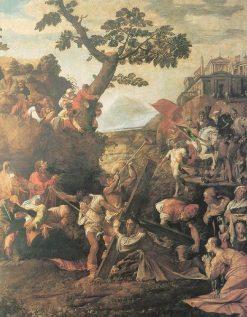 Calvary | Polidoro da Caravaggio | Oil Painting