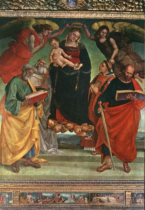 Madonna and Child with Saints | Luca Signorelli | Oil Painting