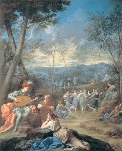 Dance of the Nymphs   Donato Creti   Oil Painting