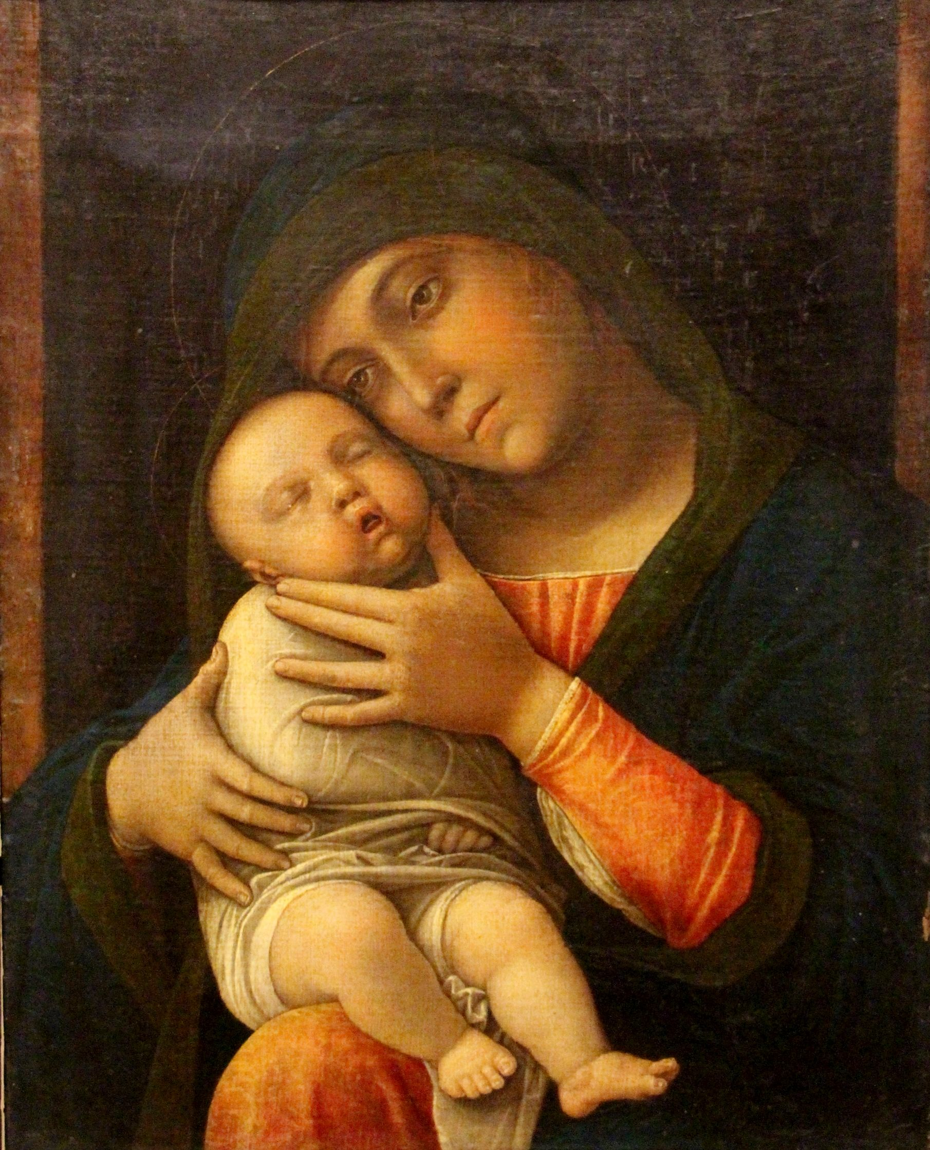 Madonna and Child | Andrea Mantegna | Oil Painting