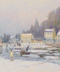 La débacle de la Seine a Port-Marly | Alfred Sisley | Oil Painting