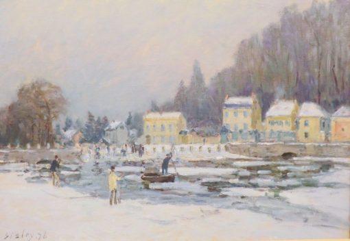 La débacle de la Seine a Port-Marly | Alfred Sisley | Oil Painting