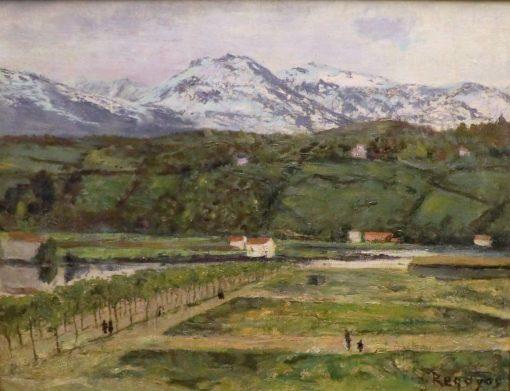 Sierra Nevada | Dario de Regoyos Y ValdEs | Oil Painting