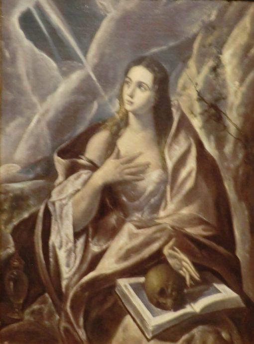 Saint Magdalene Repentant | El Greco | Oil Painting