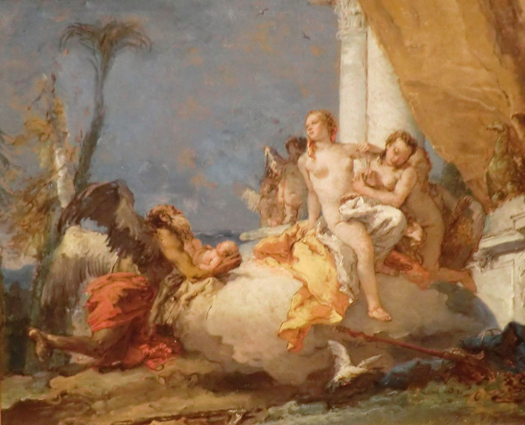 Allegory of the Birth of Francis I of Austria | Giovanni Battista Tiepolo | Oil Painting