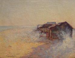 Playa de Pekin | Isidro Nonell Monturiol | Oil Painting