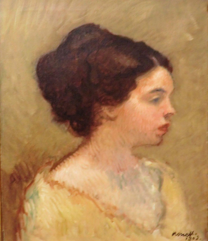 Lola | Isidro Nonell Monturiol | Oil Painting
