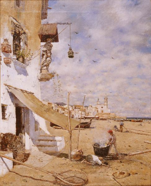Sitges | Joan Roig Soler | Oil Painting