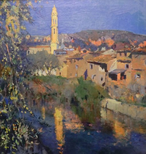 El espejo de la iglesia (Mirror of the Church) | Joaquin Mir Trinxet | Oil Painting