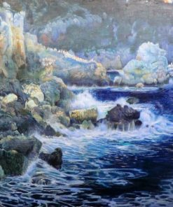 The Enchanted Cove | Joaquin Mir Trinxet | Oil Painting