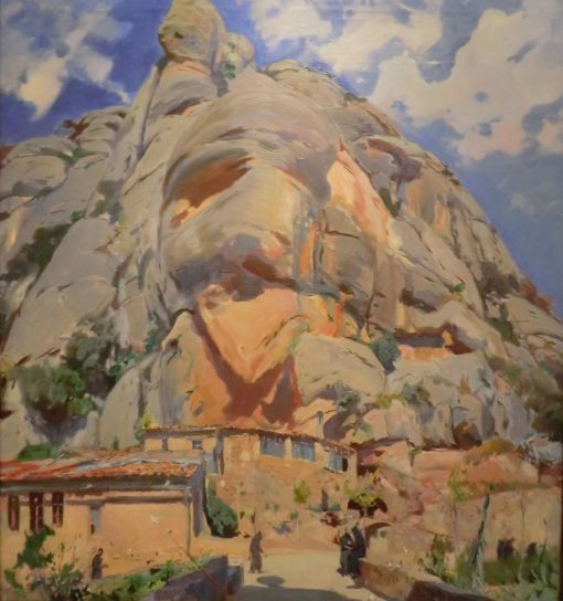 Los santos obradores (The Holy Offices)   Joaquin Mir Trinxet   Oil Painting