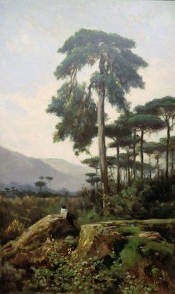 Pine Trees | Joaquin Vayreda Vila | Oil Painting
