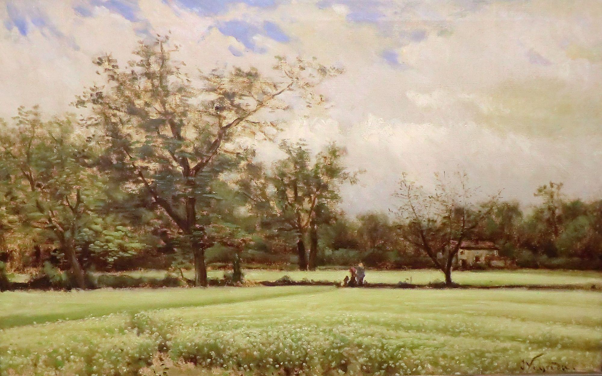 Buckwheat Blossoms   Joaquin Vayreda Vila   Oil Painting