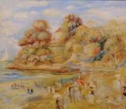 Pornic Beach | Pierre Auguste Renoir | Oil Painting