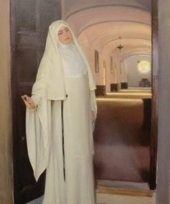 Nun | Ramon Casas y Carbo | Oil Painting