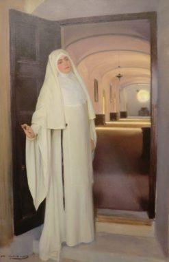 Nun | Ramon Casas y Carbo | Oil Painting
