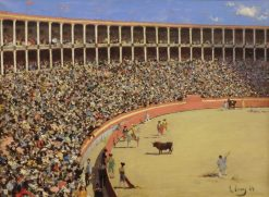 Plaza de Toros (The Bullring) | Ramon Casas y Carbo | Oil Painting