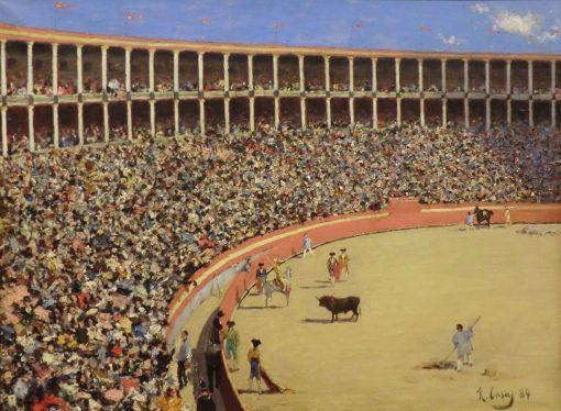 Plaza de Toros (The Bullring) | Ramon Casas y Carbo | Oil Painting