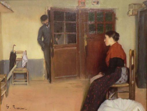 Interior | Santiago Rusiñol Prats | Oil Painting