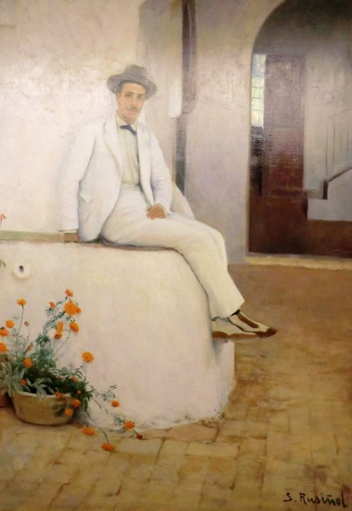 Mr Bofill in Sitges | Santiago Rusiñol Prats | Oil Painting