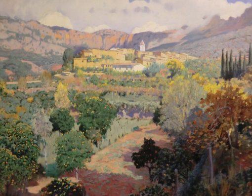 El valle de los naranjos