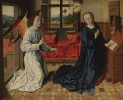 Annunciation | Dieric Bouts | Oil Painting