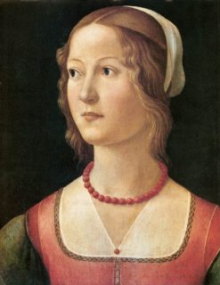 Portrait of a Woman | Domenico Ghirlandaio | Oil Painting