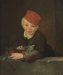Boy with Cherries | Edouard Manet | Oil Painting