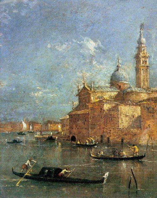 San Giorgio Maggiore | Francesco Guardi | Oil Painting
