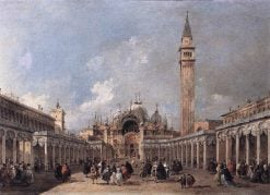 The Feast of the Ascension | Francesco Guardi | Oil Painting