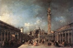 Piazza San Marco | Francesco Guardi | Oil Painting