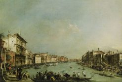 A Regatta on the Grand Canal | Francesco Guardi | Oil Painting