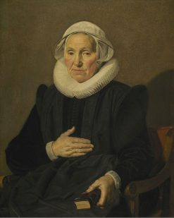 Portrait of Sara Andriesdr. Hessix | Frans Hals | Oil Painting