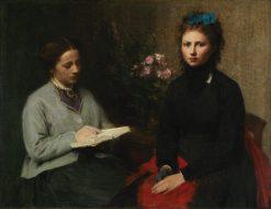 The Reading | Henri Fantin Latour | Oil Painting