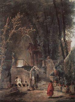 Italian Park | Hubert Robert | Oil Painting