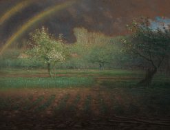 The Rainbow | Jean Francois Millet | Oil Painting