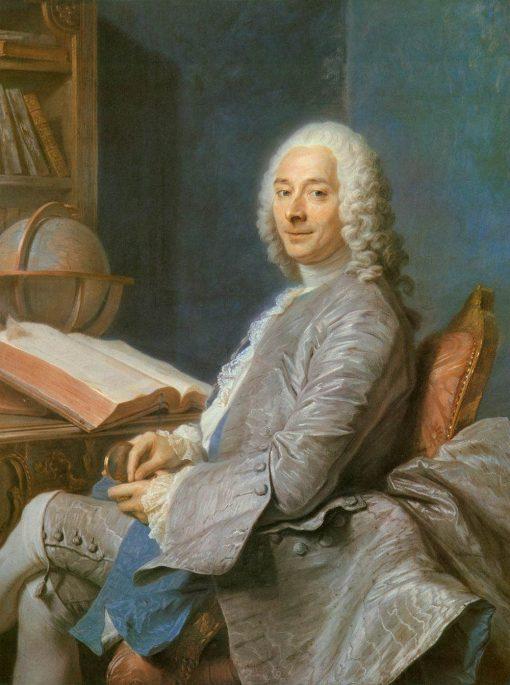 Portrait of Monsieur Duval de l'Epinoy | Maurice Quentin de La Tour | Oil Painting