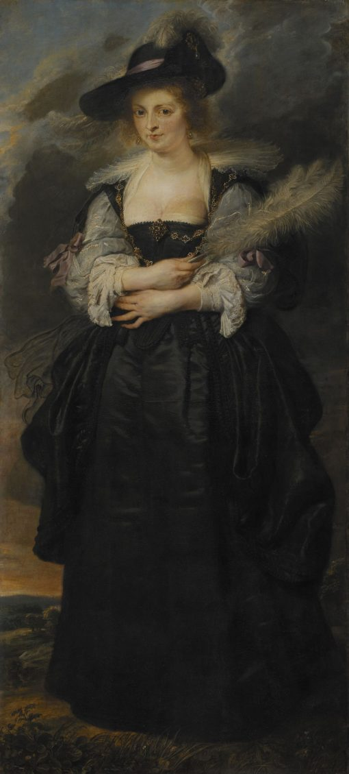 Portrait of Helena Fourment   Peter Paul Rubens   Oil Painting
