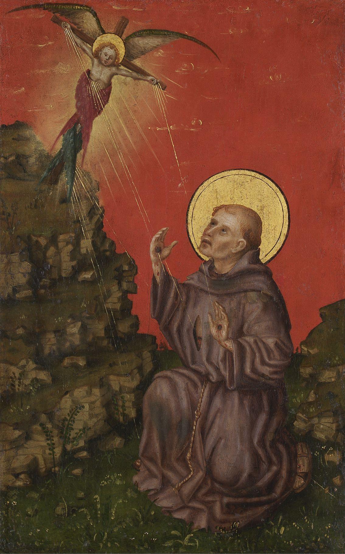 Znalezione obrazy dla zapytania: stigmatisation of st francis