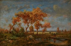 Autumn Landscape | ThEodore Rousseau | Oil Painting